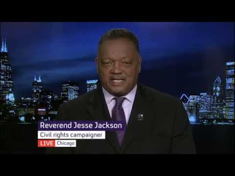 "Walter Scott shooting: Jesse Jackson on ""racism"" in US policing"