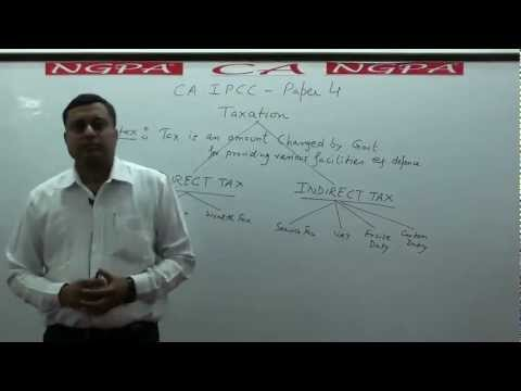 NGPA CA IPCC GROUP -1 TAXATION (WHAT IS TAX)BY NEERAJ GUPTA