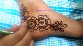 Mehndi Design Kaki : Mehndi designs by rajeshwari arun viyoutube