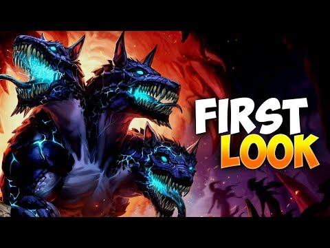 SMITE: CERBERUS NEW GOD - FIRST LOOK / BUILD