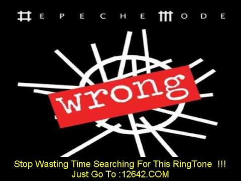 "Depeche Mode - ""Wrong"" (official music video)"