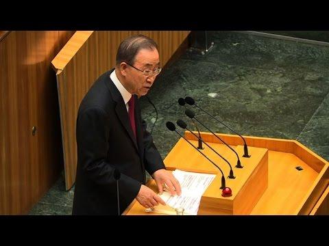 Ban Ki-moon preocupado com políticas migratórias