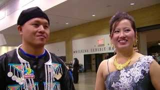 3HMONGTV Kabyeej Vaj talks to Mai Yia Yang from St. Paul on the first day of MN Hmong New Year.