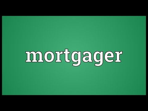 Header of mortgager