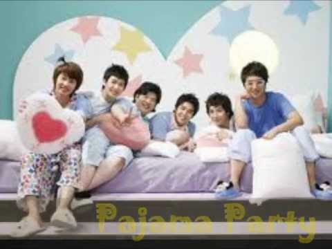Super Junior-h pajama Party Lyrics [romanization] video