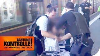 Geflohener Klinik-Patient flippt aus! Polizei greift durch!  | Achtung Kontrolle | kabel eins