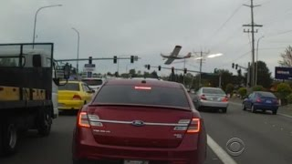 Dramatic small plane crash caught on video