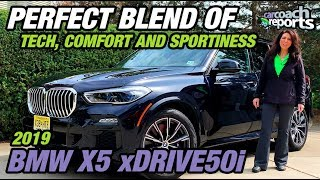 2019 BMW X5 xDrive50i - Perfect Blend of Tech, Comfort & Sportiness