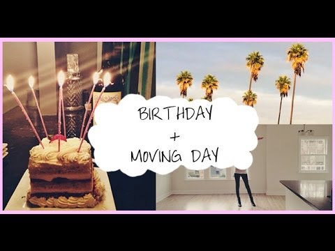 Cross Country Carly: Birthday + Moving Day!