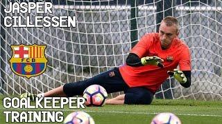 Jasper Cillessen / Goalkeeper Training / FC Barcelona !