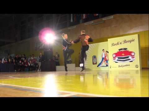 Nikolett Meszaros & Krisztian Krivenko - World Cup Ljubljana 2012