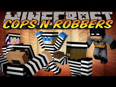 Minecraft Mini-Game : Cops N Robbers - I'M BATMAN