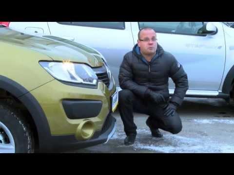 Первый обзор нового Renault Sandero Stepway 2014 (2015)!