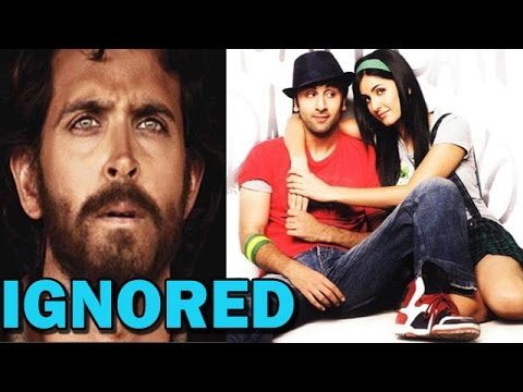 Katrina Kaif Ignores Hrithik Roshan For Ranbir Kapoor | Bollywood News video