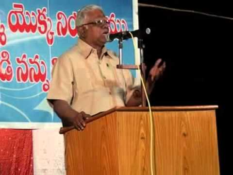Telugu Christian Messages VTS 2 by Bro.G.Devasahayam (Heb. 9...