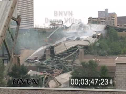 8/1/2007 Interstate 35w Bridge Collapse Aftermath Part 3