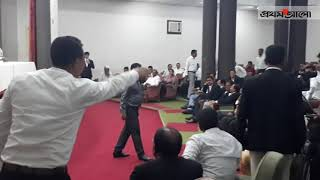 মঞ্চে ডাকা নিয়ে আইনজীবীদের হুলুস্থুল || Prothom Alo News