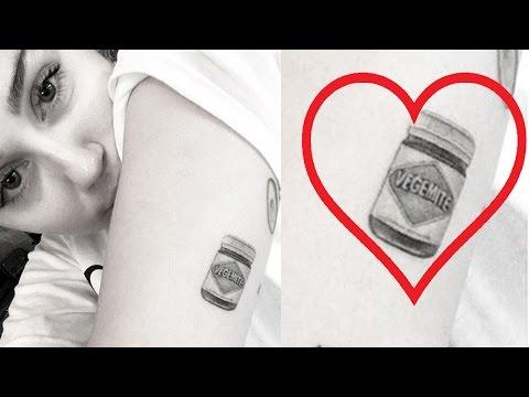 Miley Cyrus Gets New Liam Hemsworth-Inspired Tattoo?