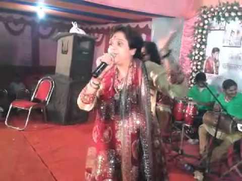 bhojpuri bhajan guwahati:jagran queen SONU MUSKAN