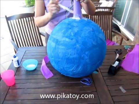 Cómo hacer una piñata con Pikatoy