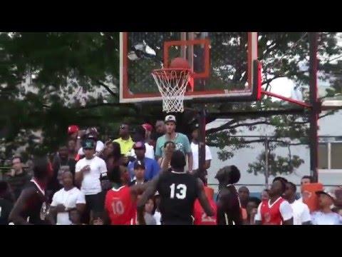 June 26, 2015 Dyckman Basketball Tournament(25th Anniversary): Team Senegal's Visit