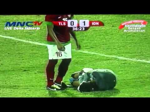 Full match Semi final AFF U19 Indonesia vs Timor Leste (2-0) 20 Sept 2013