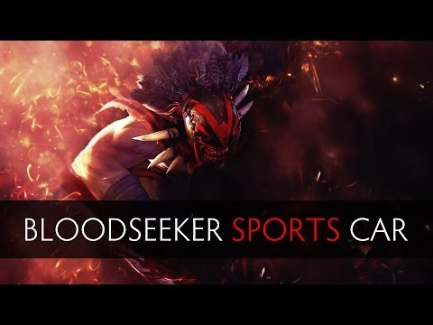 Dota 2 - How to turn Bloodseeker into a Sports Car (1817ms)