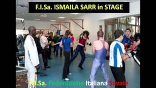 F.I.Sa. - ISMAILA SARR IN STAGE - c/o A. DORIA - GENOVA