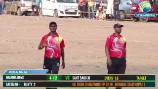 Final Match Uk Tiger Championship 2016 , mumbai