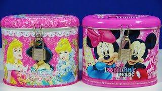 Disney Princess Mickey Mouse Coin Bank Toys Peppa Pig Surprise Egg Cake Pop Cuties LOL Surprise