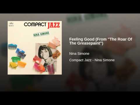 """Feeling Good (From """"The Roar Of The Greasepaint"""")"""