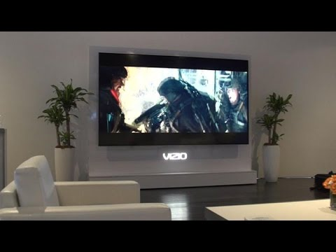 Vizio Reference Series TV has a 120-inch screen and costs $130.000