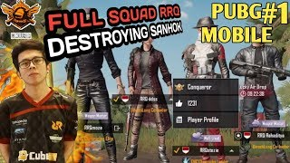 PUSH RANK KE CONQUEROR WITH RRQ SQUAD - PUBG MOBILE INDONESIA