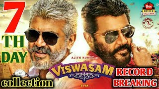 Viswasam 7th Day Box Office Collection | Ajith Kumar Nayanthara | 2019
