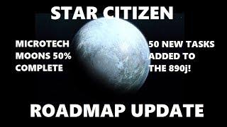 Star Citizen Roadmap Update - Tons of new Tasks + Big 3.8 progress