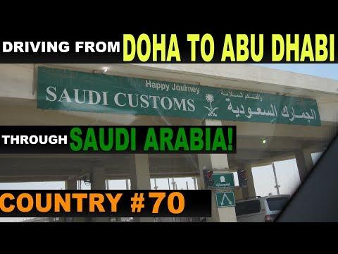 Driving from Qatar to Abu Dhabi (via Saudi Arabia)