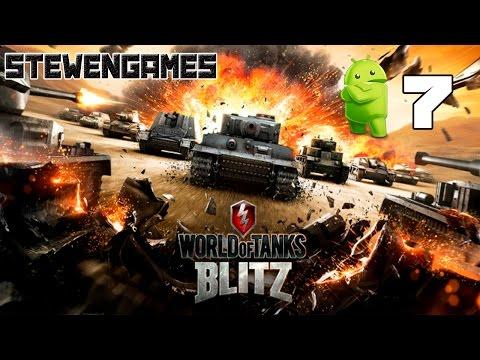 Прохождение игры World Of Tanks Blitz (Android) #7 Т-150 или М6?