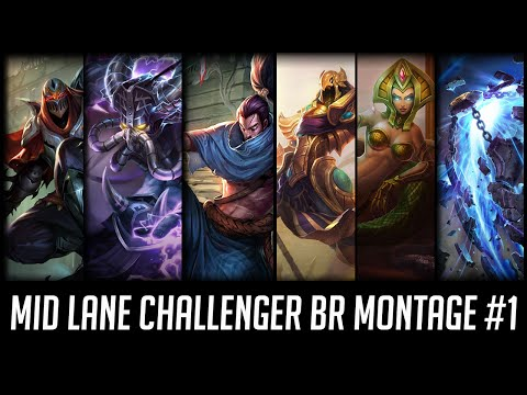 Mid Lane Challenger BR Montage #1 with Kami, Takeshi, Nexus and more.