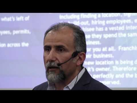 Learn How to Franchise Your Business - Hossein Kasmai - Small Biz Expo 2016