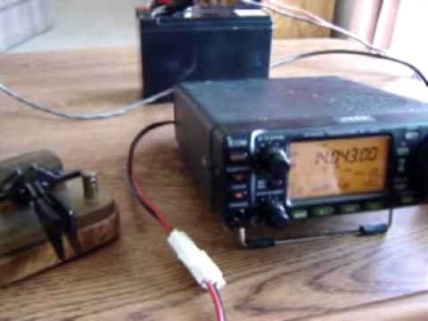 20m END FED HALF-WAVE PORTABLE Ham Radio