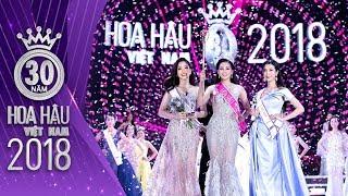 Khoảnh khắc đăng quang của Tân Hoa Hậu Việt Nam 2018 Trần Tiểu Vy