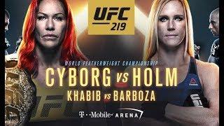 UFC 219 Podcast