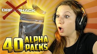 40 ALPHA PACKS E DREAMHACK CANCELADA!