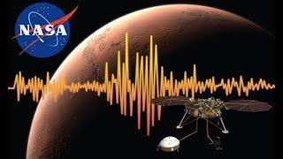 ASI SE ESCUCHA EL VIENTO EN MARTE CAPTADO POR INSIGHT LANDER DE LA NASA!!