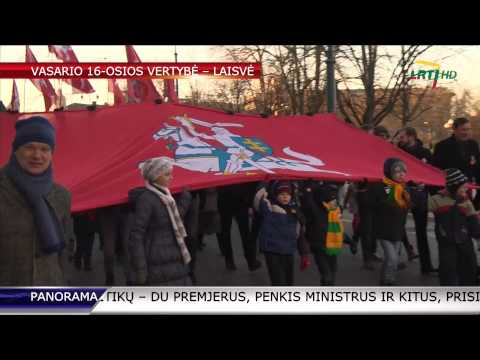 Vasario 16-oji įgauna visiškai naują prasmę (vaizdo reportažas) HD