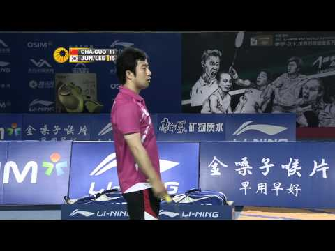 2011 World Superseries Finals-MD-Semi Finals-Biao Chai_Zhendong Guo vs. Jae Sung Jung_Yong Dae Lee