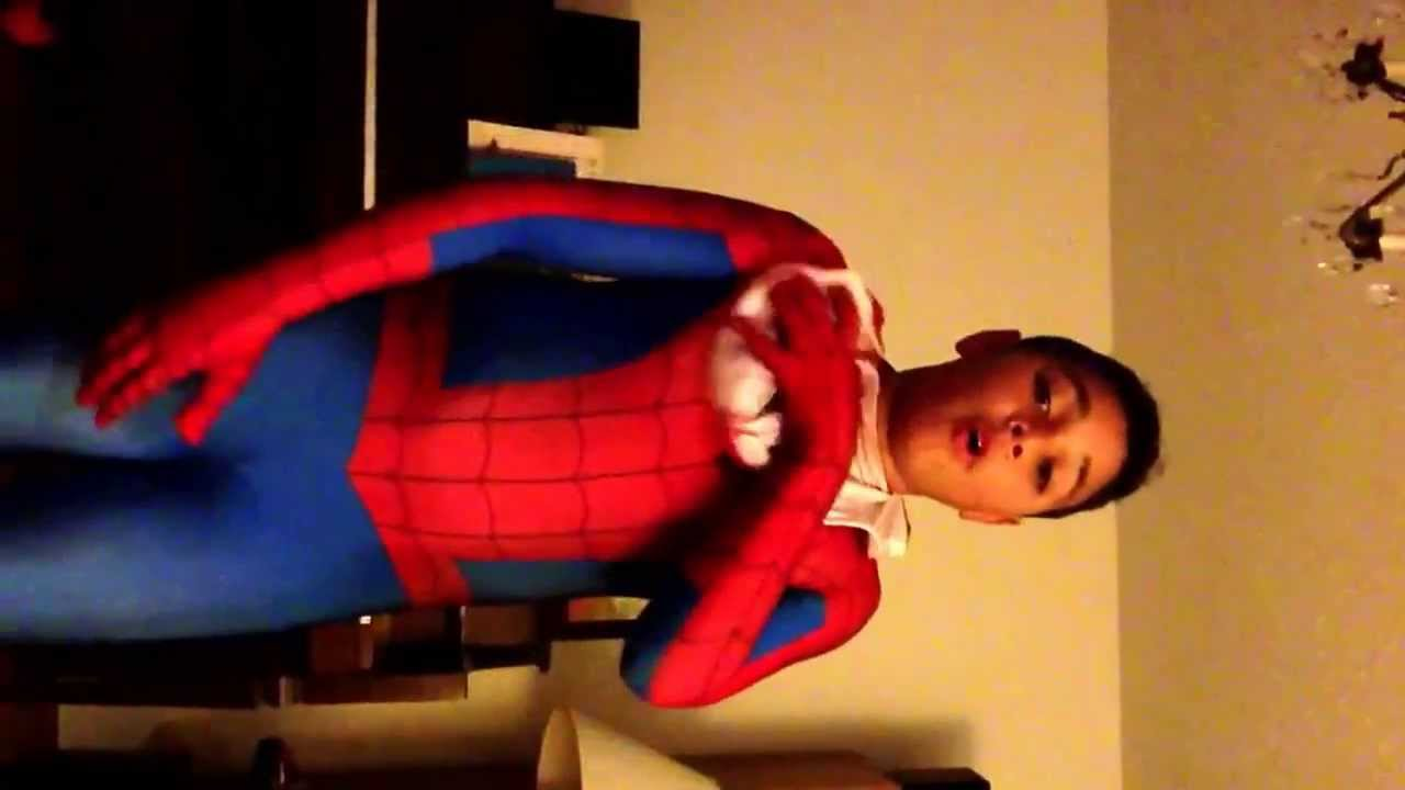 Spiderman Morphsuit Party City Spider-man Party suit review