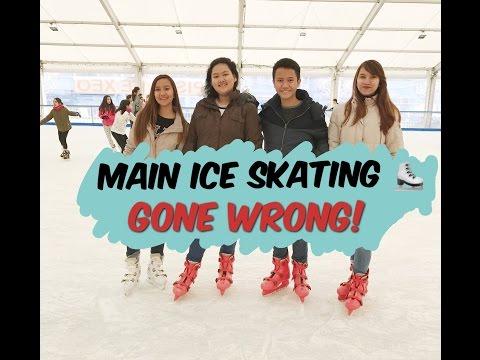 EVLOG 8 : NYOBA MAIN ICE SKATING DI SPANYOL!!