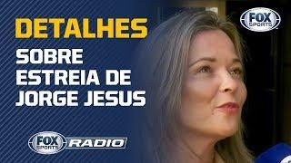 É PRECISO TER PACIÊNCIA COM JESUS! Jornalista portuguesa dá detalhes sobre treinador do Flamengo