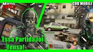 Essa Partida foi Tensa! (Call Of Duty Mobile)